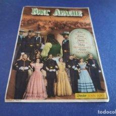 Cine: PROGRAMA DE MANO ORIG - FORT APACHE - CINE DE CAÑADA ( ALICANTE). Lote 208155183
