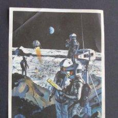 Flyers Publicitaires de films Anciens: PROGRAMA DE CINE - 2001: UNA ODISEA DEL ESPACIO - CINE CALATRAVAS (BURGOS) 24 MAYO 1969. Lote 208685635