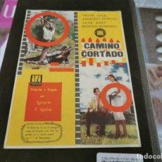 Cine: PROGRAMA DE MANO ORIG - CAMINO CORTADO - CINE DE ZARAGOZA. Lote 208950686