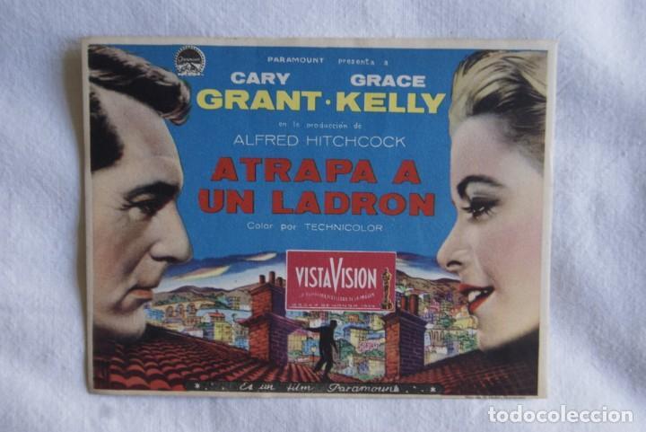 ATRAPA A UN LADRON BUEN ESTADO CARY GRANT T74 (Cine - Folletos de Mano - Comedia)