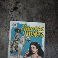 Cine: FOLLETO DE MANO / LIMOSNA DE AMORES / LOLA FLORES -MIGUEL ACEVES MEJIAS / CINEMA CLUB NAJERA 1956. Lote 209263691