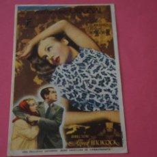 Foglietti di film di film antichi di cinema: FOLLETO DE MANO PROGRAMA DE CINE MATRIMONIO ORIGINAL CON PUBLICIDAD LOTE 60 MIRAR FOTOS. Lote 209324217