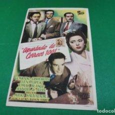 Cine: PROGRAMA DE MANO ORIG - APARTADO DE CORREOS 1001 - CINEMA BOLET. Lote 209368505