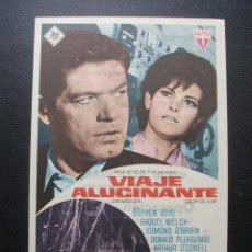 Cine: VIAJE ALUCINANTE, STEPHEN BOYD, RAQUEL WELCH, CINE IMPERIAL Y TEATRO CHAPI DE VILLENA. Lote 209415325