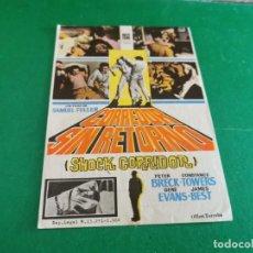 Cine: PROGRAMA DE MANO ORIG - CORREDOR SIN RETORNO - CINE DE BENICALAP. Lote 209604247