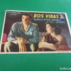 Cine: PROGRAMA DE MANO ORIG - DOS VIDAS - CINE MINGO. Lote 209695411