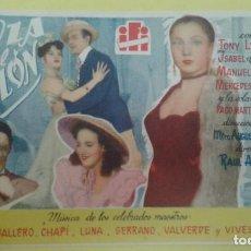Cine: LA DANZA DEL CORAZON TONI LEBLANC ISABEL DE CASTRO SENCILLO DE IFI. SIN PUBLICIDAD. Lote 209699310