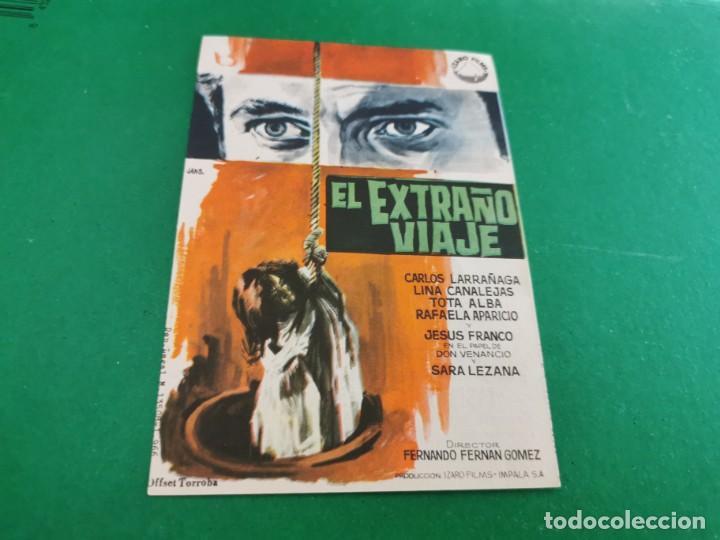 PROGRAMA DE MANO ORIG - EL EXTRAÑO VIAJE- CINE DE SEVILLA (Cine - Folletos de Mano - Clásico Español)