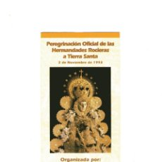 Cine: PROGRAMA A TIERRA SANTA. Lote 209789821