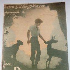 Folhetos de mão de filmes antigos de cinema: FOLLETO DE CINE SEQUOIA CON JEAN PARKER PROGRAMA DOBLE PUBLICIDAD CINEMA PROYECCIONES 1936. Lote 209943307
