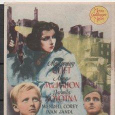 Cine: FOLLETO DE MANO DE LA PELICULA LOS ANGELES PERDIDOS DEL TEATRO PRINCIPAL DE REINOSA DEL AÑO 1949. Lote 209999168
