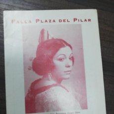 Cine: FALLA PLAZA DEL PILAR. TEATRO PRINCIPAL. 1974.. Lote 210168136