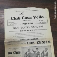 Cine: CLUB CASA VELLA. LOS CENITS.. Lote 210168853