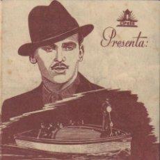 Cine: PROGRAMA DOBLE DE CUANDO EL LADRÓN ENCUENTRA AL LADRÓN (1937) - TEATRO CIRCO DE ALCOY. Lote 210230588