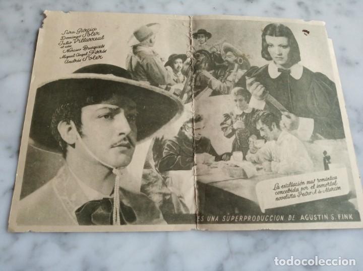 Cine: folleto de mano doble - historias de un gran amor - jorge negrete gloria marin - - Foto 2 - 210287640