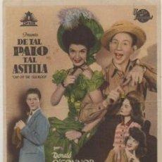 Cine: PROGRAMA DE CINE: DE TAL PALO TAL ASTILLA PC-4642. Lote 210301002