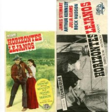 Cine: HORIZONTES LEJANOS, CON JAMES STEWART.. Lote 210349867