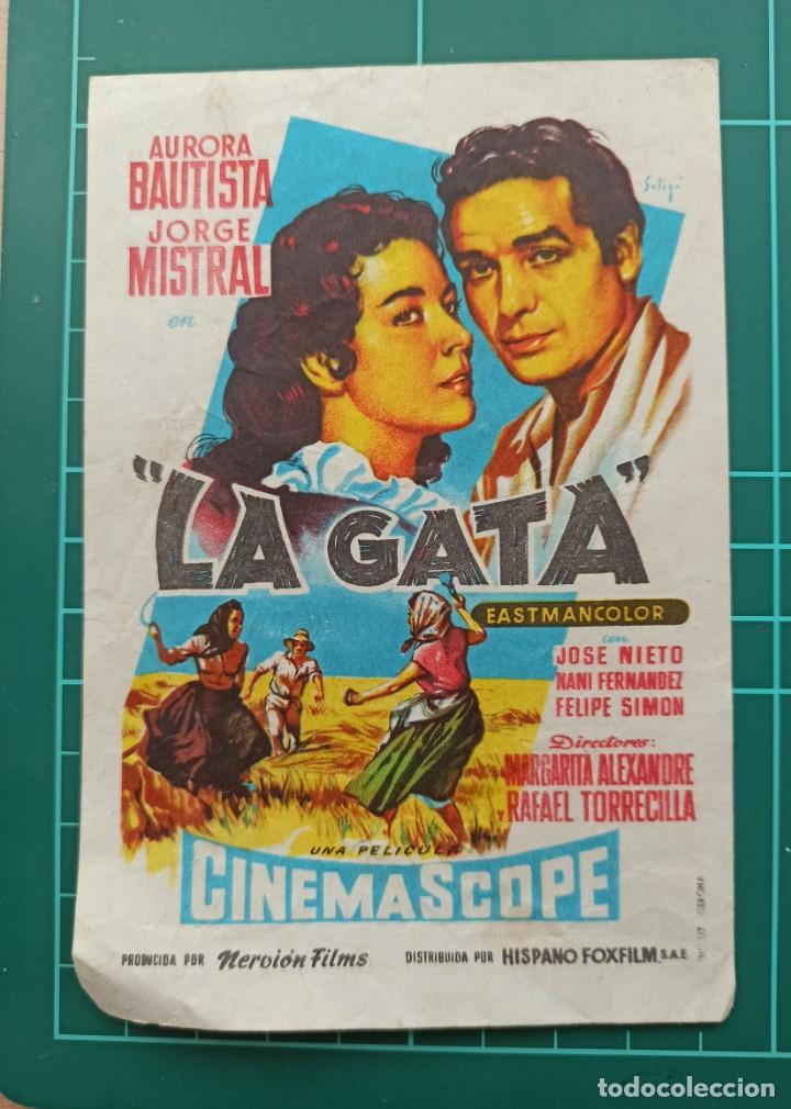LA GATA. B1 (Cine - Folletos de Mano - Clásico Español)
