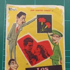 Cine: LOS CLAVELES. B1. Lote 210357322