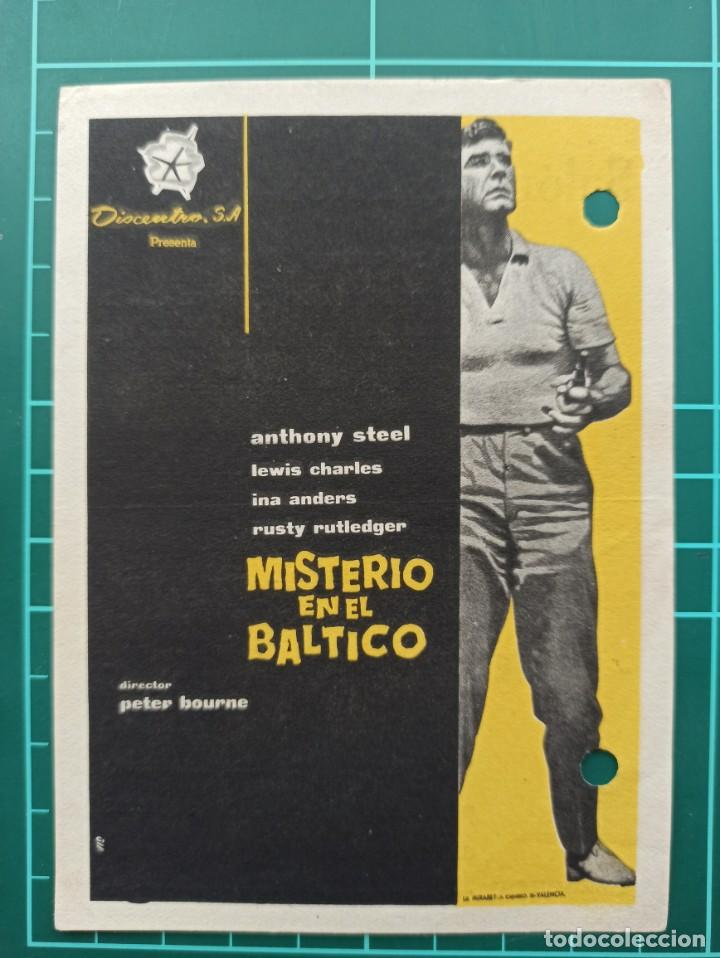 MISTERIO EN EL BÁLTICO. B1 (Cine - Folletos de Mano - Suspense)