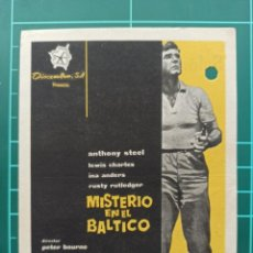 Cine: MISTERIO EN EL BÁLTICO. B1. Lote 210358620