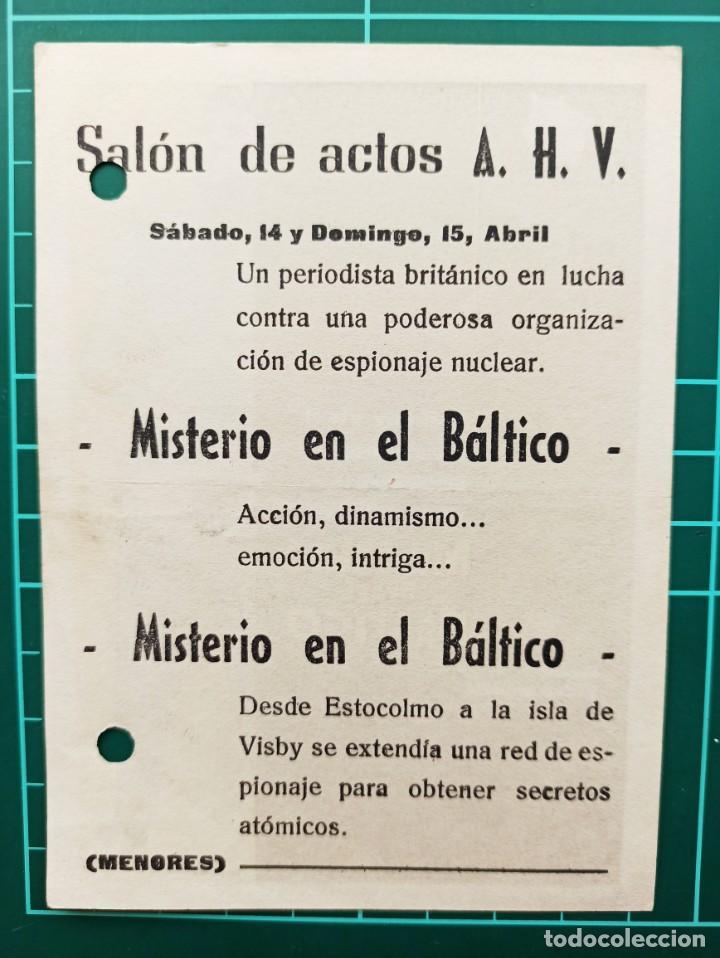 Cine: Misterio en el Báltico. B1 - Foto 2 - 210358620