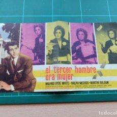 Cine: EL TERCER HOMBRE ERA MUJER. B1. Lote 210358686