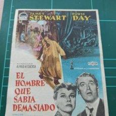 Cine: EL HOMBRE QUE SABÍA DEMASIADO. B1. Lote 210358780