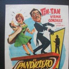 Cine: EL PANDILLERO, TIN TAN, CINE TRAJANO DE MERIDA, 1963. Lote 210437271