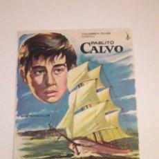 Cine: PABLITO CALVO. DOS AÑOS DE VACACIONES.. Lote 210479281