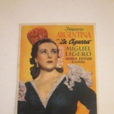 Cine: IMPERIO ARGENTINA. LA CIGARRA.. Lote 210480586
