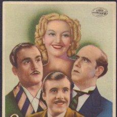 Cine: PROGRAMA SENCILLO DE YO NO ME CASO (1944) - SALÓN FAURA DE FAURA. Lote 210481852