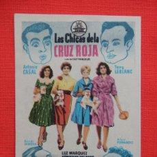 Cine: LAS CHICAS DE LA CRUZ ROJA, IMPECABLE SENCILLO, TONY LEBLANC, C/P KURSAAL 1959. Lote 210484305