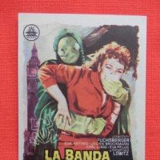 Cine: LA BANDA DE LA RANA, IMPECABLE SENCILLO, EVA ANTHES, C/P T. CIRCO S. NOVEDADES 1962. Lote 210484760