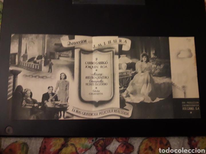 Cine: Castillo de Naipes. Teatro circo Villar. 1943. Diptico - Foto 3 - 210530457