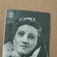 Folhetos de mão de filmes antigos de cinema: PROGRAMA DE CINE DOBLE. EL MILAGRO DEL CRISTO DE LA VEGA. CINE AL DORSO.. Lote 210579076