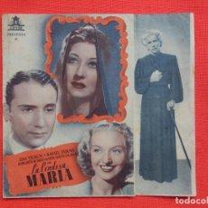 Cine: LA CONDESA MARIA, DOBLE, LINA YERGOS, C/P CINE GOYA, 1943. Lote 210674502