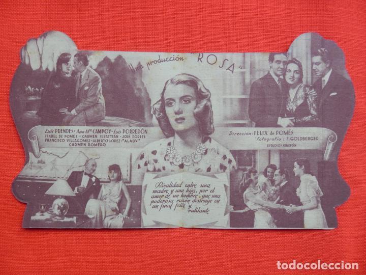 Cine: la madre guapa, impecable doble troquelado, mercedes vecino, c/p cine cataluña c. triunfo 1942 - Foto 2 - 210676647