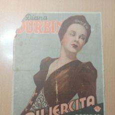 Cine: ANTIGUO PROGRAMA CINE MUJERCITA 1944. Lote 210716674