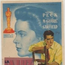 Folhetos de mão de filmes antigos de cinema: PROGRAMA DE CINE: LA BARRERA INVISIBLE PC-4666. Lote 210740867