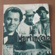 Cine: PROGRAMA DE CINE DOBLE. MARTIN-GALA. CINE EN DORSO.. Lote 210760097