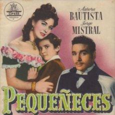 Cine: PROGRAMA DOBLE DE PEQUEÑECES (1950) - SALA REX DE ALCALÀ DE XIVERT. Lote 210765904