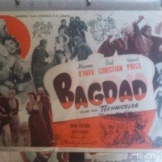 Cine: BAGDAD CON PUBLICIDAD. Lote 210810569