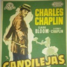 Cine: CANDILEJAS CON PUBLICIDAD. Lote 210811247