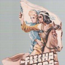 Cine: FLECHA NEGRA TROQUELADO. Lote 210839007