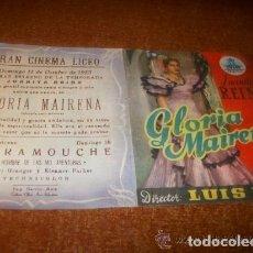 Cine: GLORIA DE MAIRENA. Lote 210839656