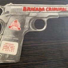 Cine: PROGRAMA FOLLETO DE MANO DE LA PELÍCULA BRIGADA CRIMINAL. Lote 210933640