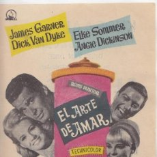 Cine: EL ARTE DE AMAR. Lote 210936900