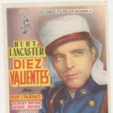 Cine: DIEZ VALIENTES. SENCILLO DE COLUMBIA. Lote 210960855