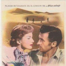 Cine: LAS MINAS DEL REY SALOMÓN. SENCILLO DE MGM. ¡IMPECABLE!. Lote 210960860